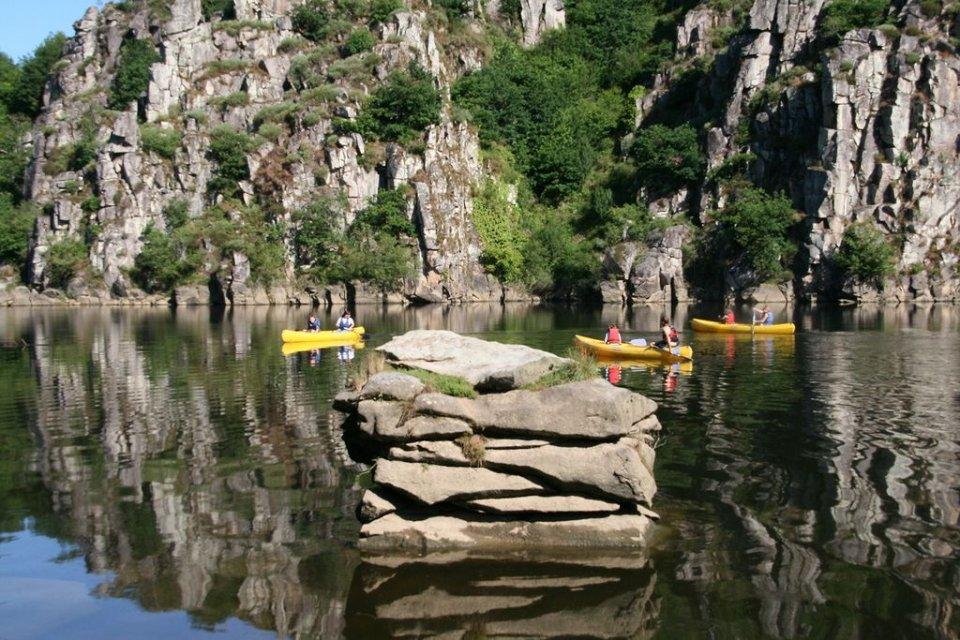 Canoë en Creuse, canoë en Limousin, parcours canoë