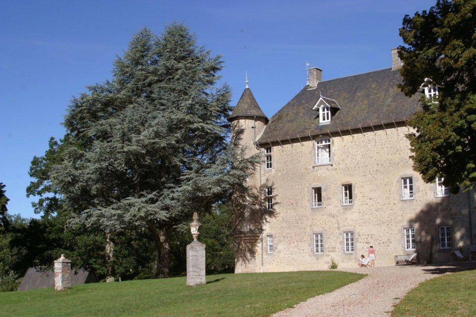 Château du Theil - Randonnée Creuse - Randonnée Limousin