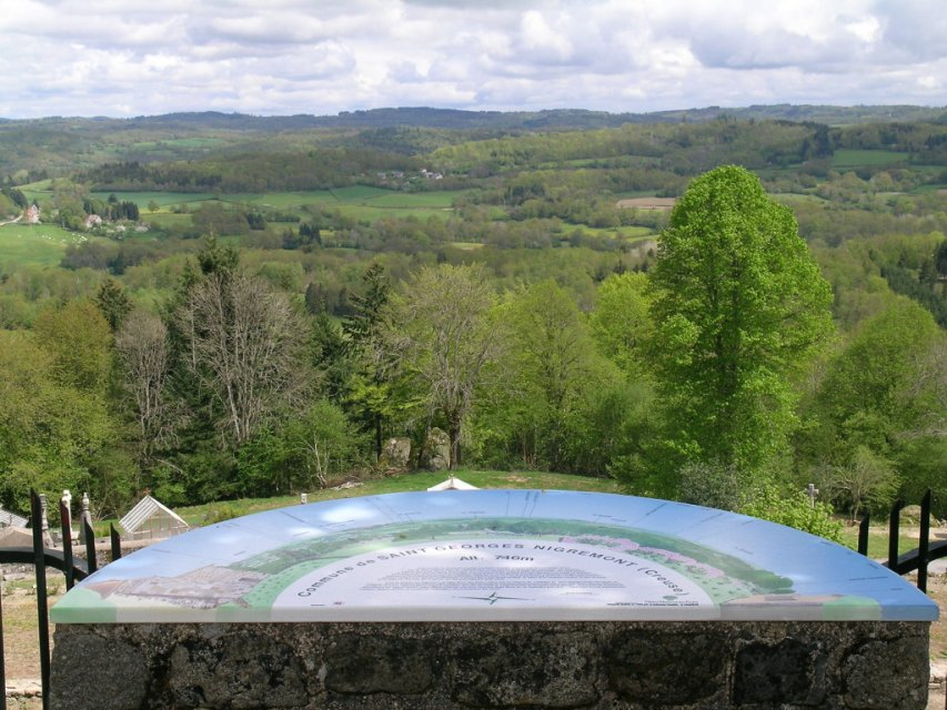 Saint Georges Nigremont - Randonnée Creuse