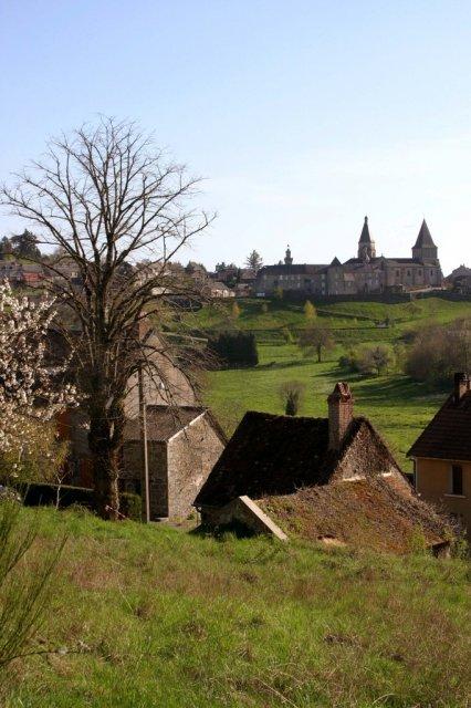 Bénévent l'abbaye - Randonnée Creuse